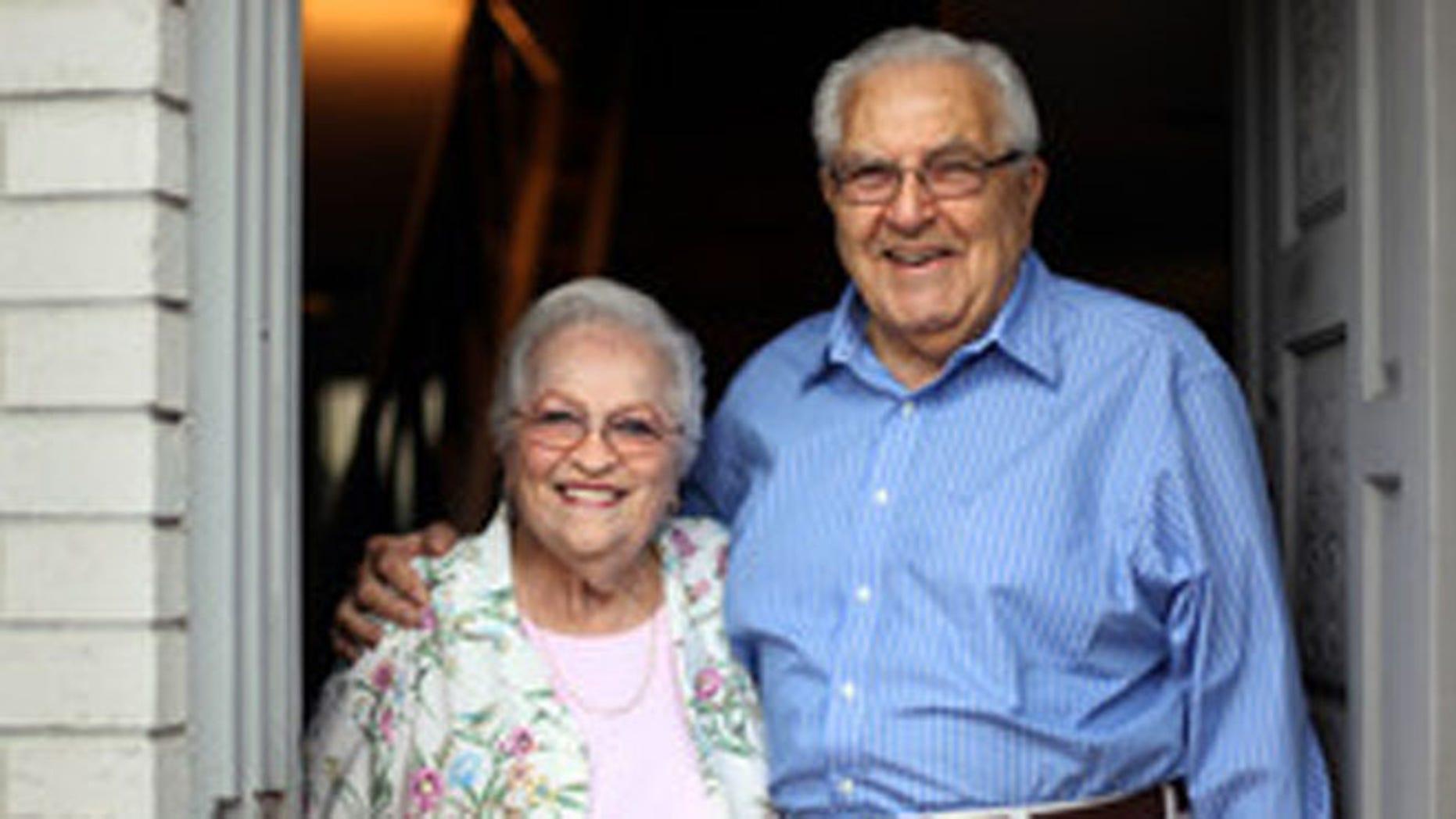 Leonard and Anne Yordon, at home last week in Daytona Beach, Fla.