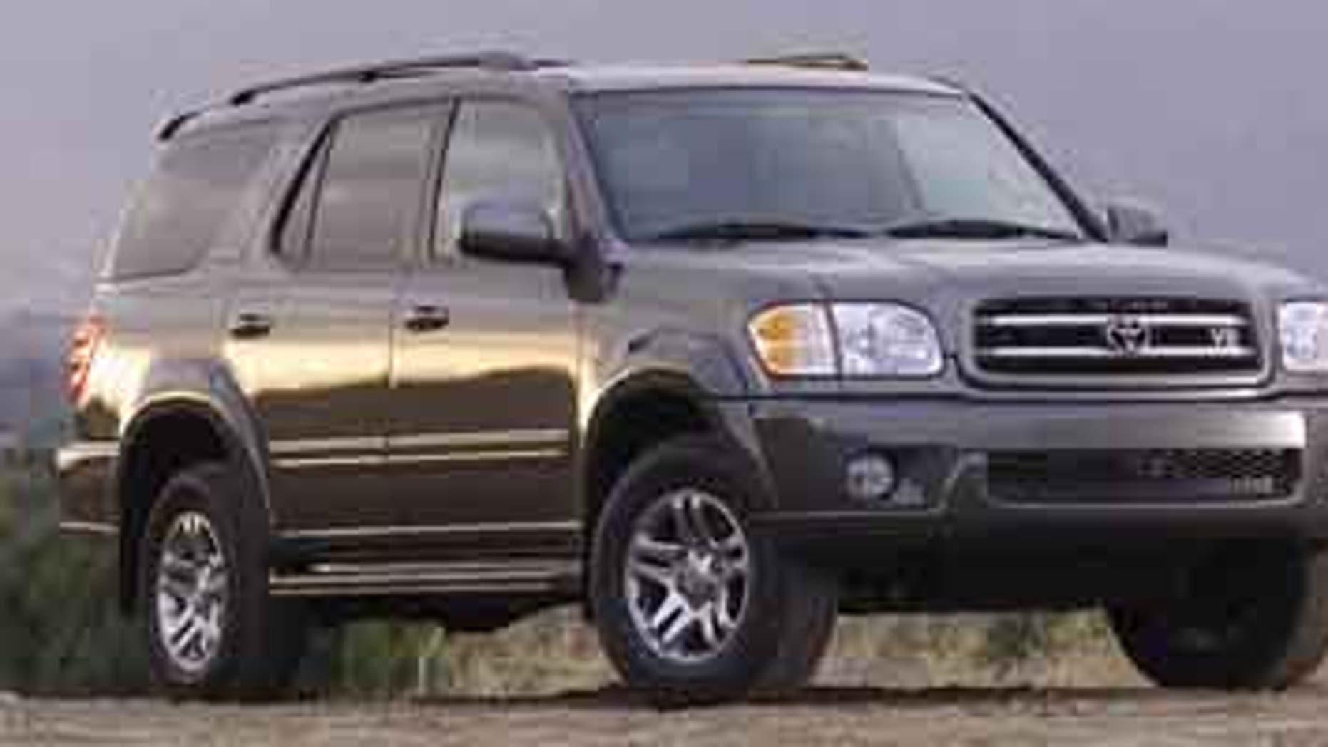 2003 Toyota Sequoia.