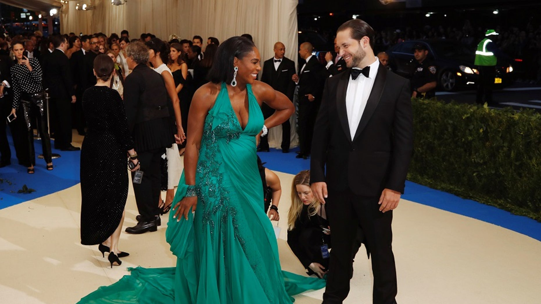 Serena Williams will reportedly marry her fiance Alexis Ohanian this week.