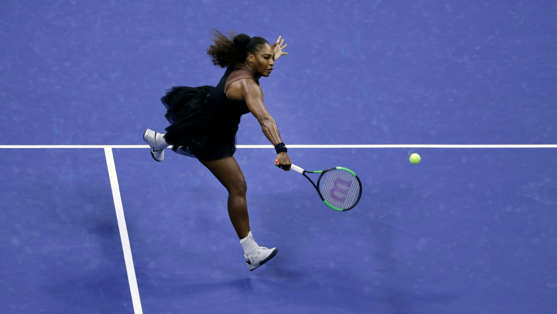Serena Williams is seeking her first U.S. Open victory since 2014.