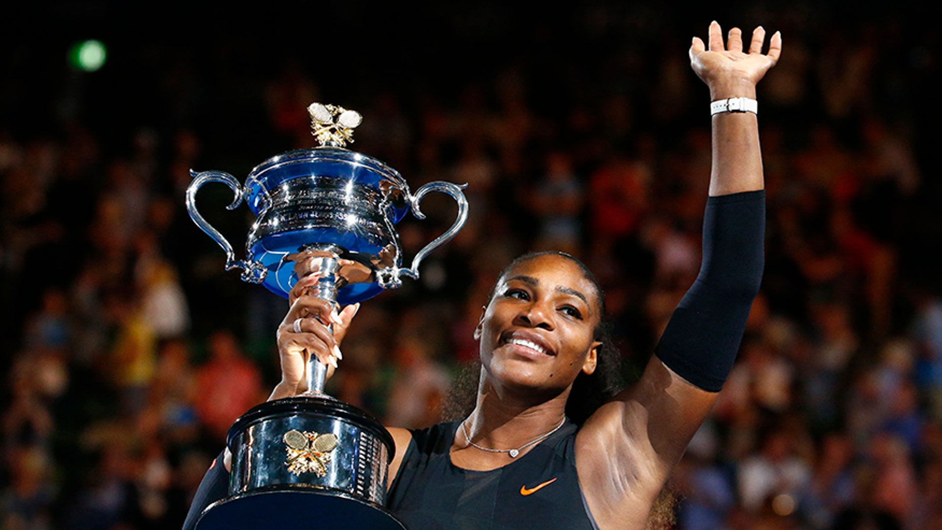 Tennis star Serena Williams gave birth to a girl on Friday according to local media reports.