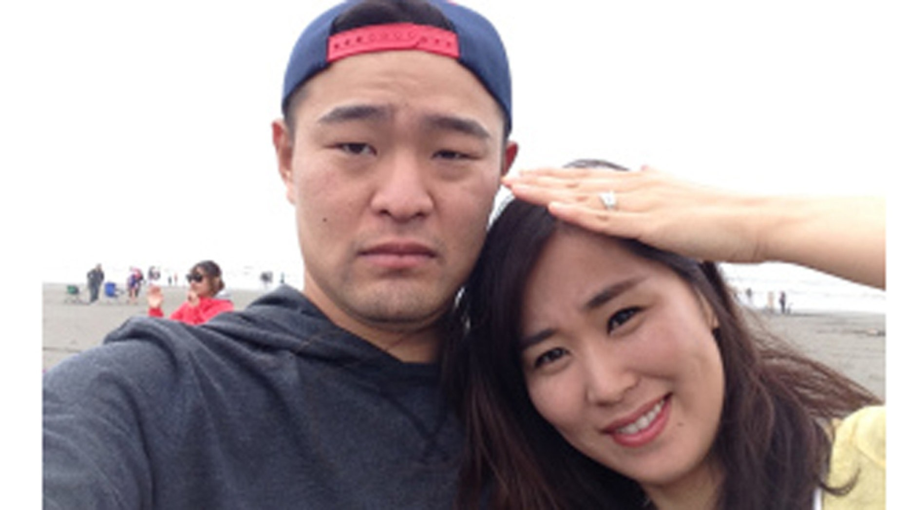 Seul Lim and her husband. (Q13 Fox)