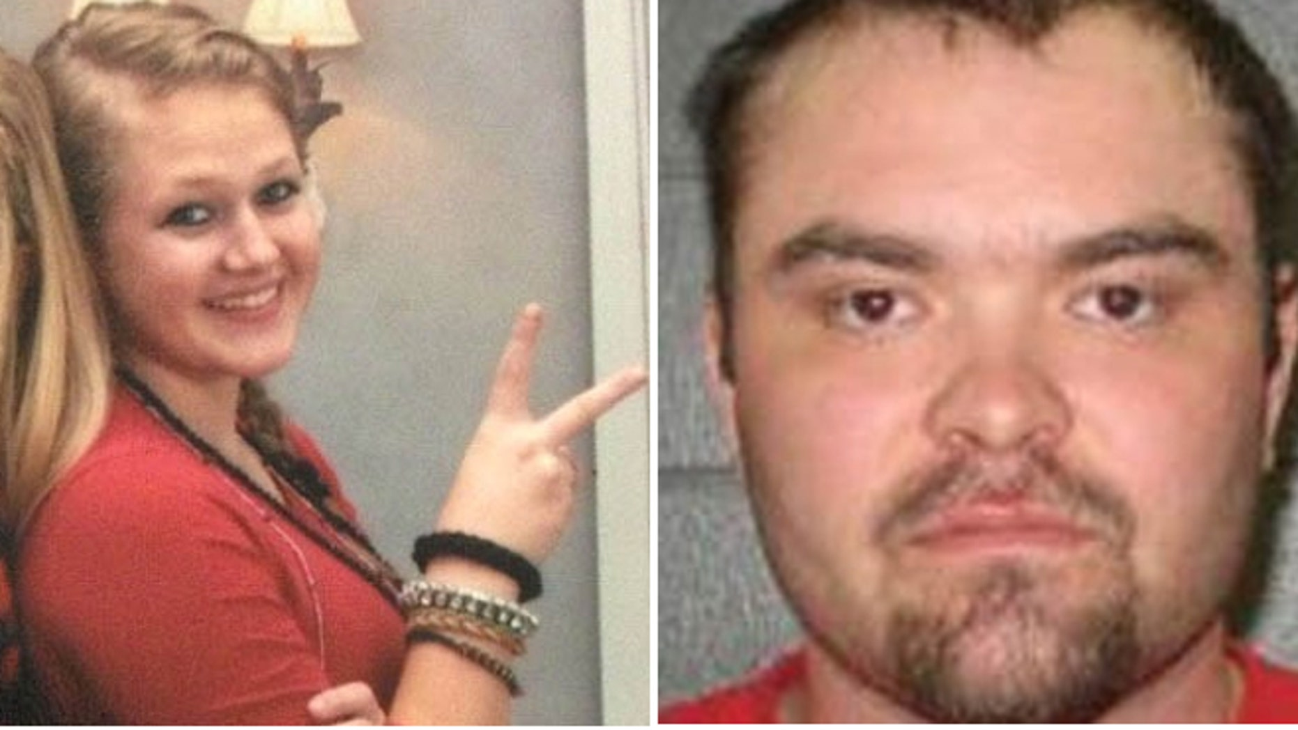 Authorities believe Molly Linhardt, 16, may be with Benjamin Kinkade, 27, a registered sex offender.