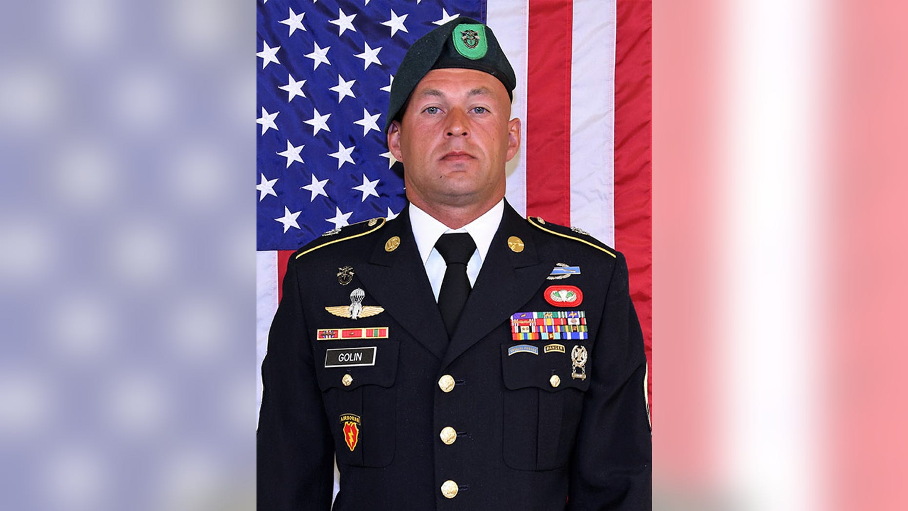 The dead soldier was identified as 34-year-old Mihail Golin, of Fort Lee, New Jersey.