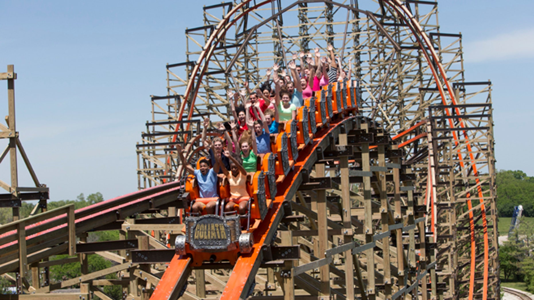 Six Flags has banned selfie sticks citing guest safety concerns.