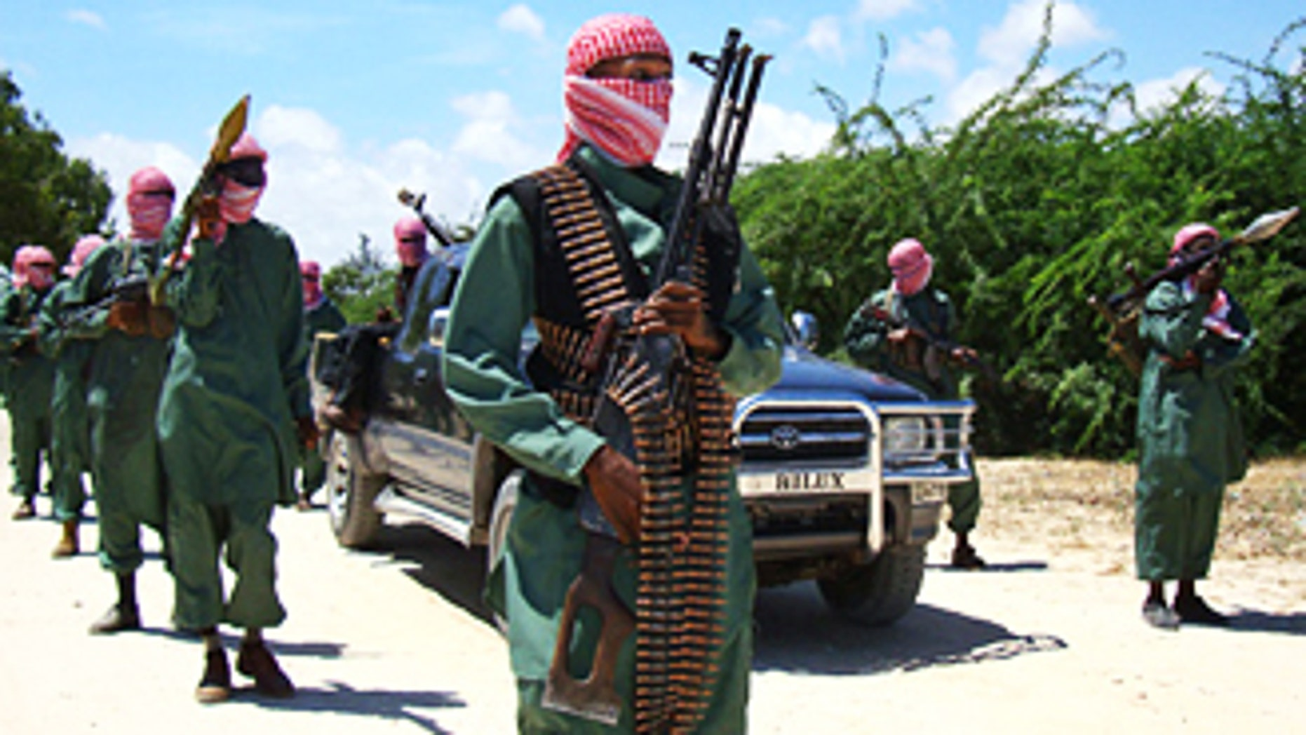 Al Shabab militants