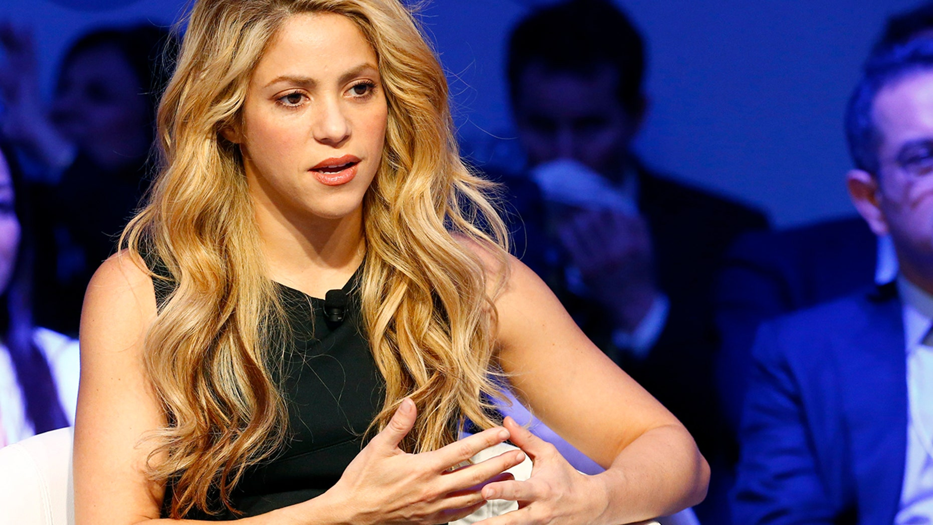 Shakira was under fire this week after fans pointed out a necklace on her fan website resembled a Nazi symbol.