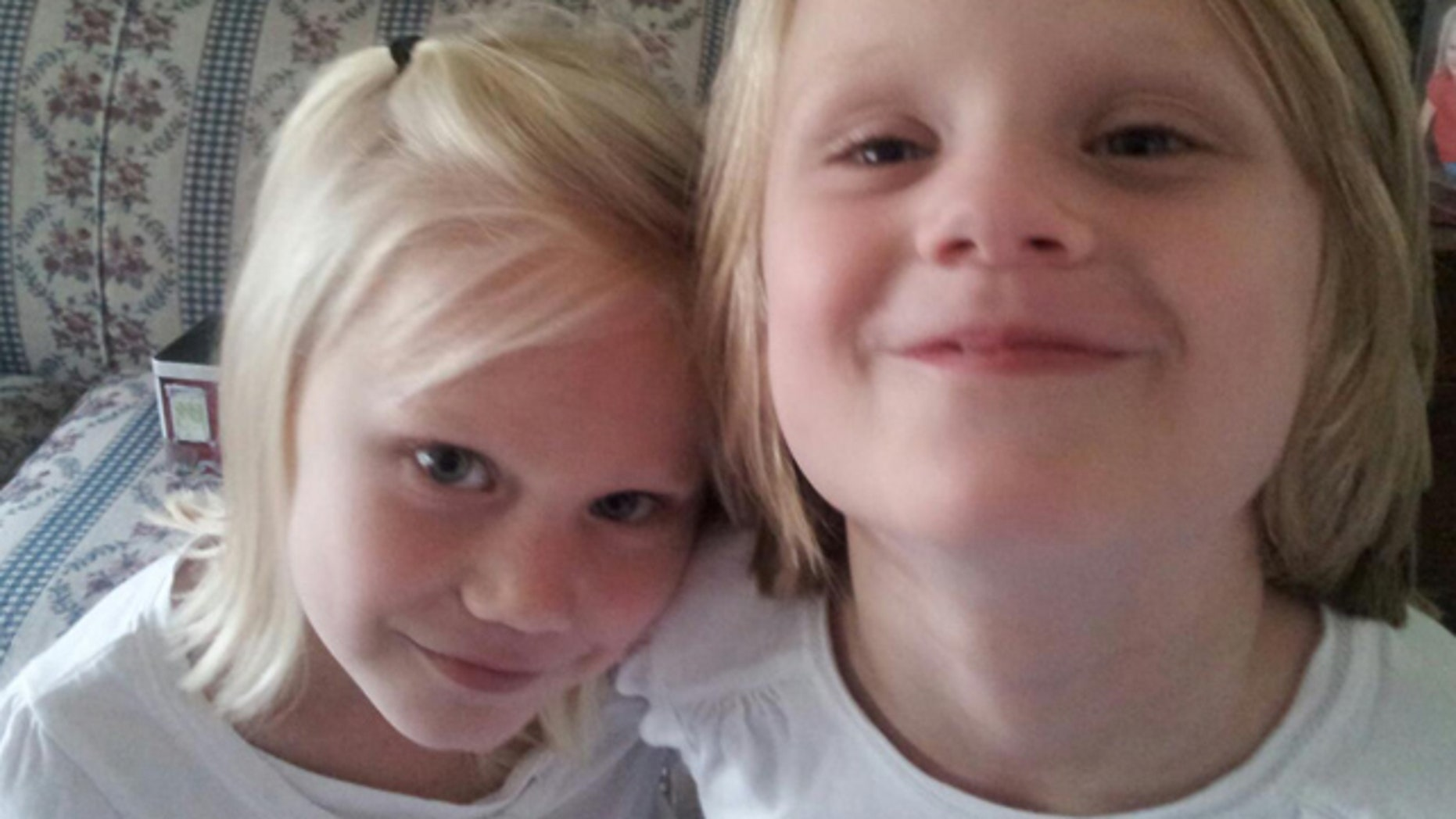 """Under new co-payment guidelines in Pennsylvania for children with mental and physical disabilities, Kimberly Shank, of Quarryville, is afraid she won't be able to pay for so-called """"wraparound"""" services for Abbie, 7, right, and Allie, 5, including behavior and speech therapy. (Courtesy: Kimberly Shank)"""