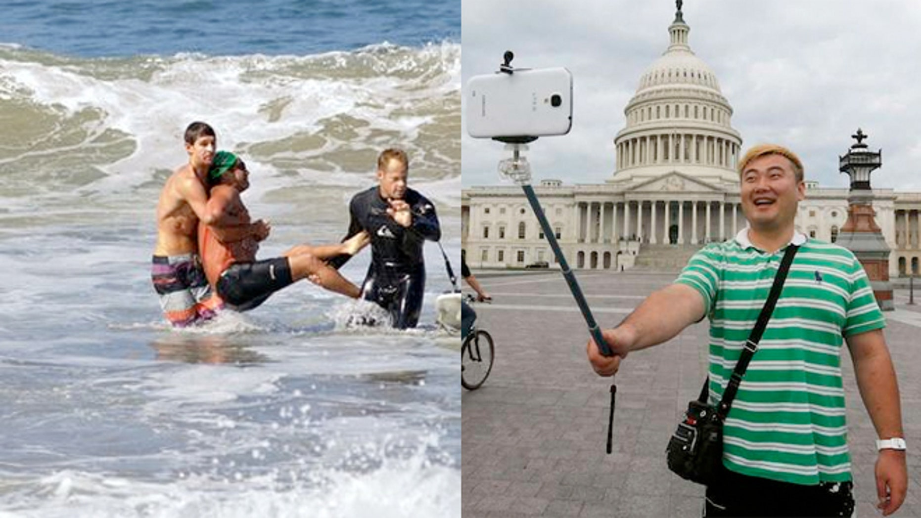 Recent deaths by people trying to take selfies prompted some to draw a comparison to shark attacks.