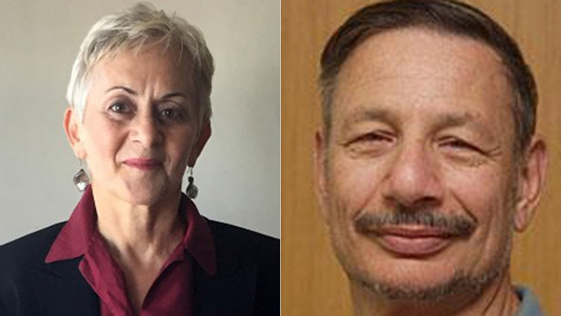 Simona Sharoni, left, filed a complaint against Richard Ned Lebow, right, for a joke he made in a crowded elevator at an academic conference.