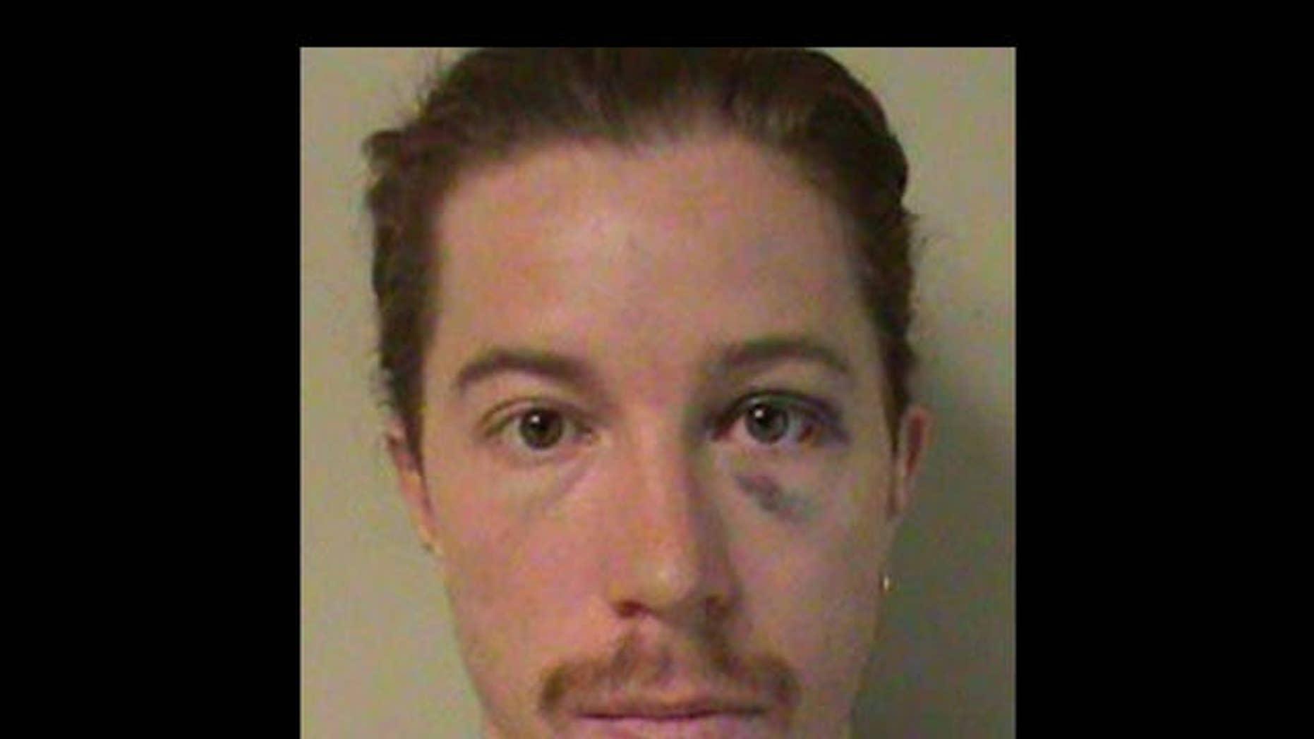 September 17, 2012 - Shaun White mugshot from Metro Nashville Police Department.