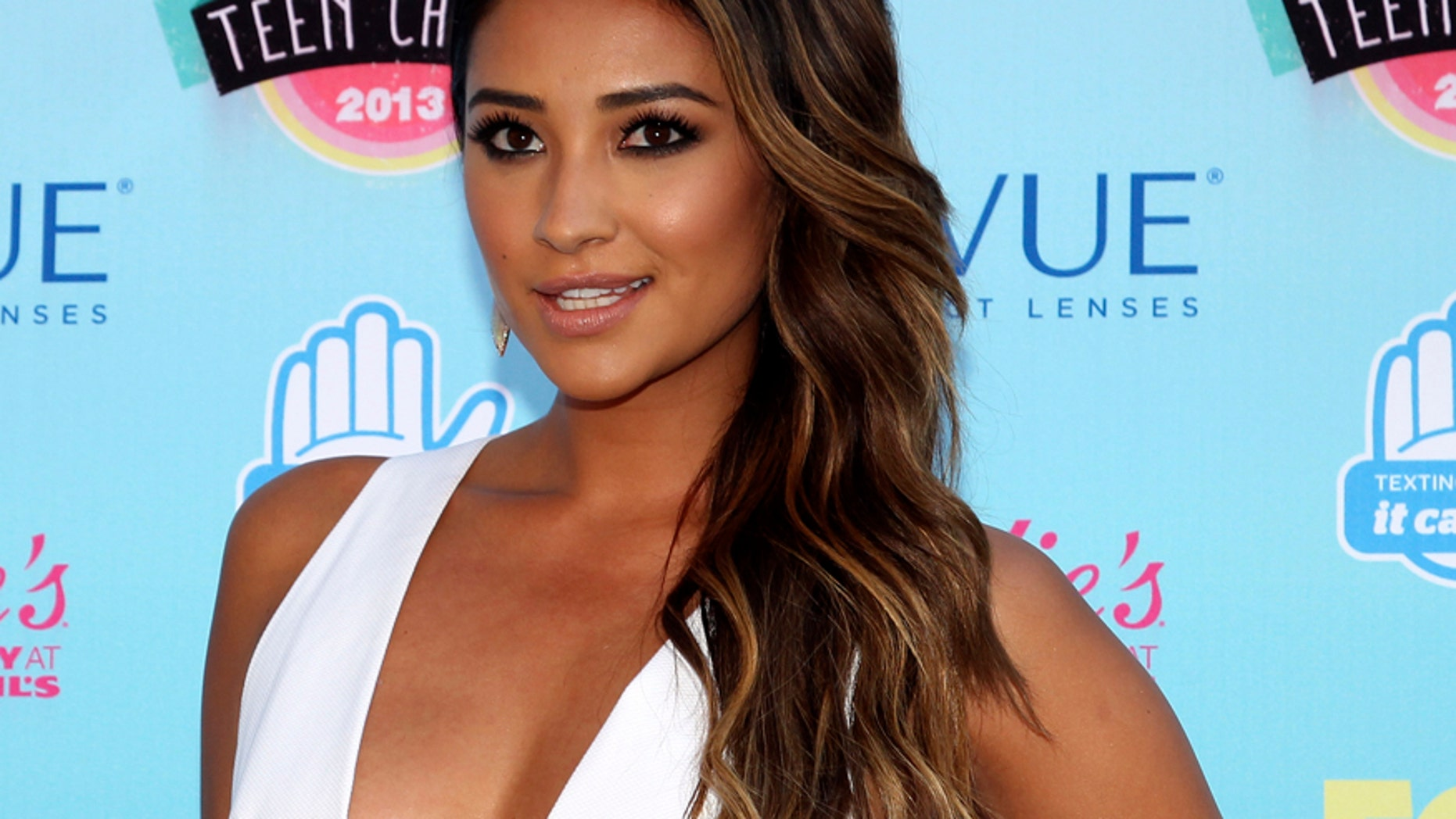 "Actress Shay Mitchell from the TV series ""Pretty Little Liars."""