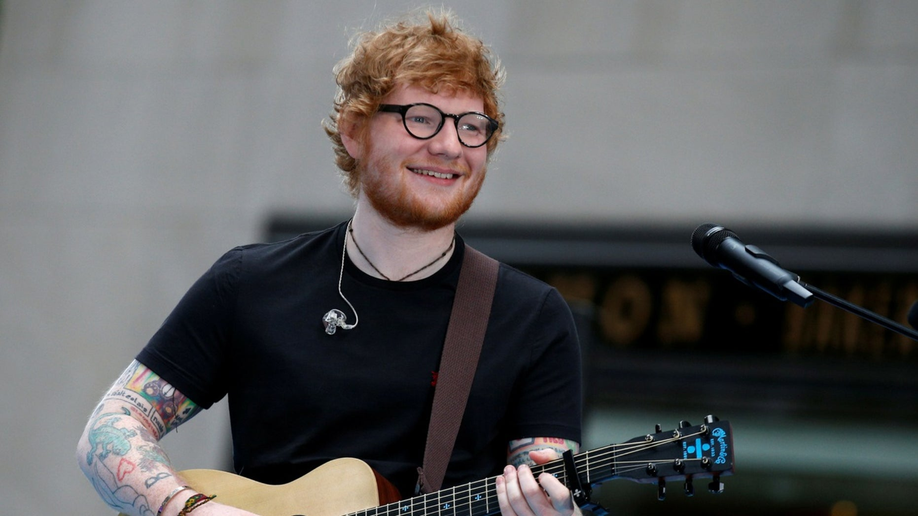 Elton John encouraged Ed Sheeran to take a break in between his second and third album.