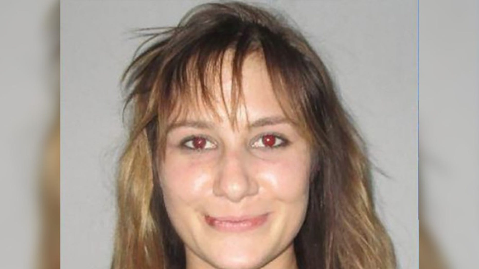 Shelby McDowell, 20, was arrested Sunday night after crashing a wedding. (Flagler County Jail)