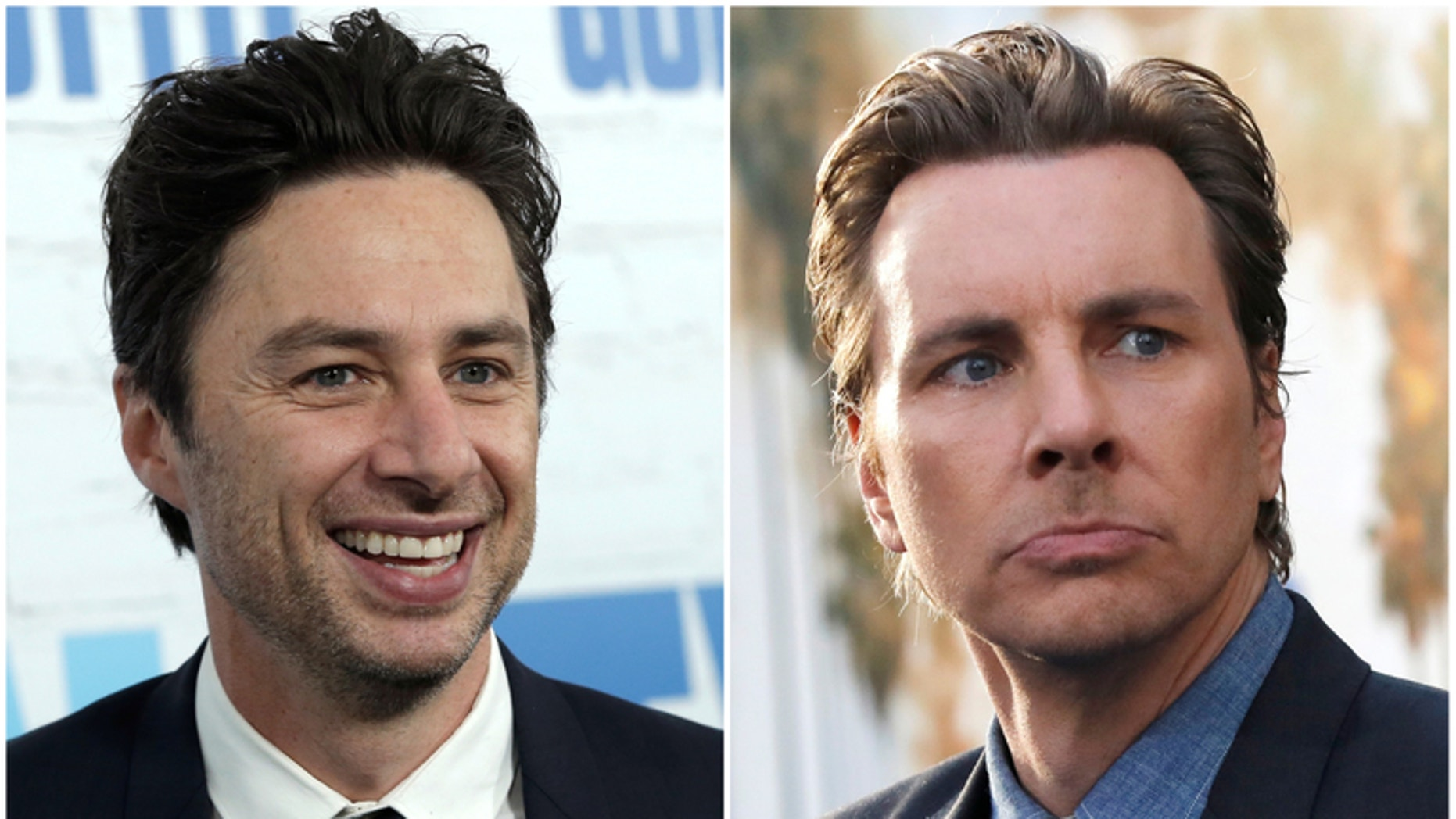 Zach Braff and Dax Shepard have always been a popular celebrity-doppelgänger duo