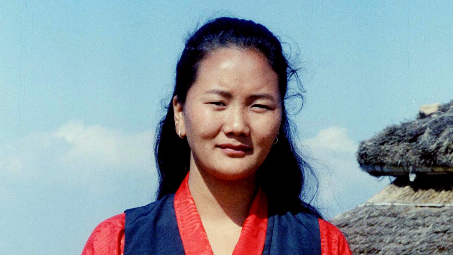 Lhakpa Sherpa, 27, is seen in Kathmandu in this May 2000 file photo.