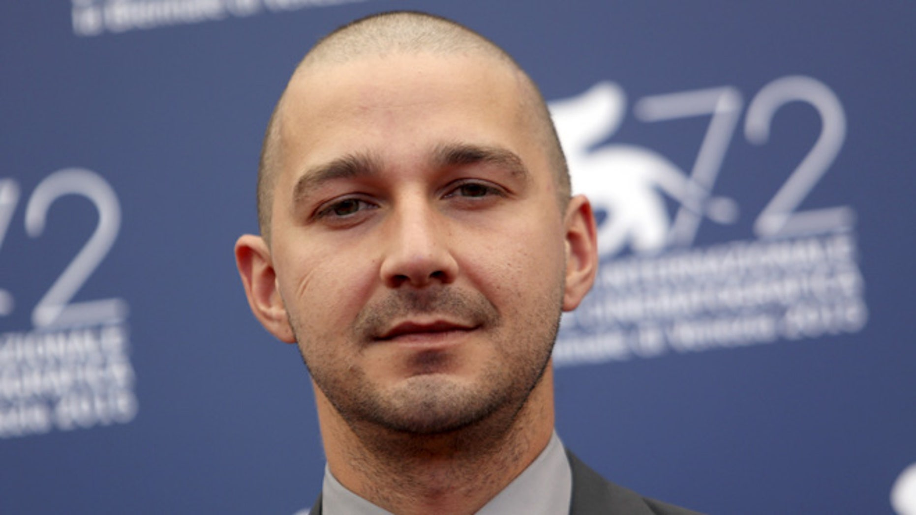 September 6, 2015. Actor Shia LaBeouf at the Venice Film Festival.