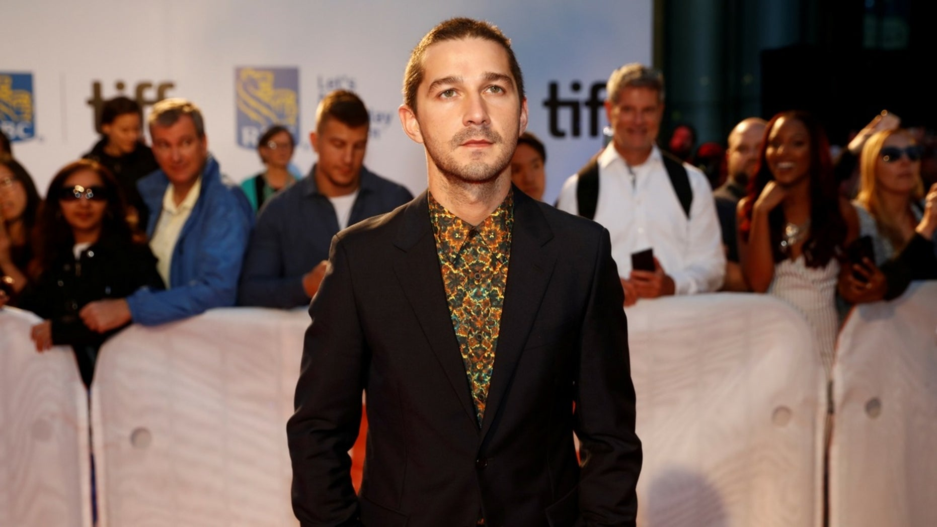 Actor Shia LaBeouf has reportedly filed for divorce from wife Mia Goth and has since been spotted with pop star FKA twigs.