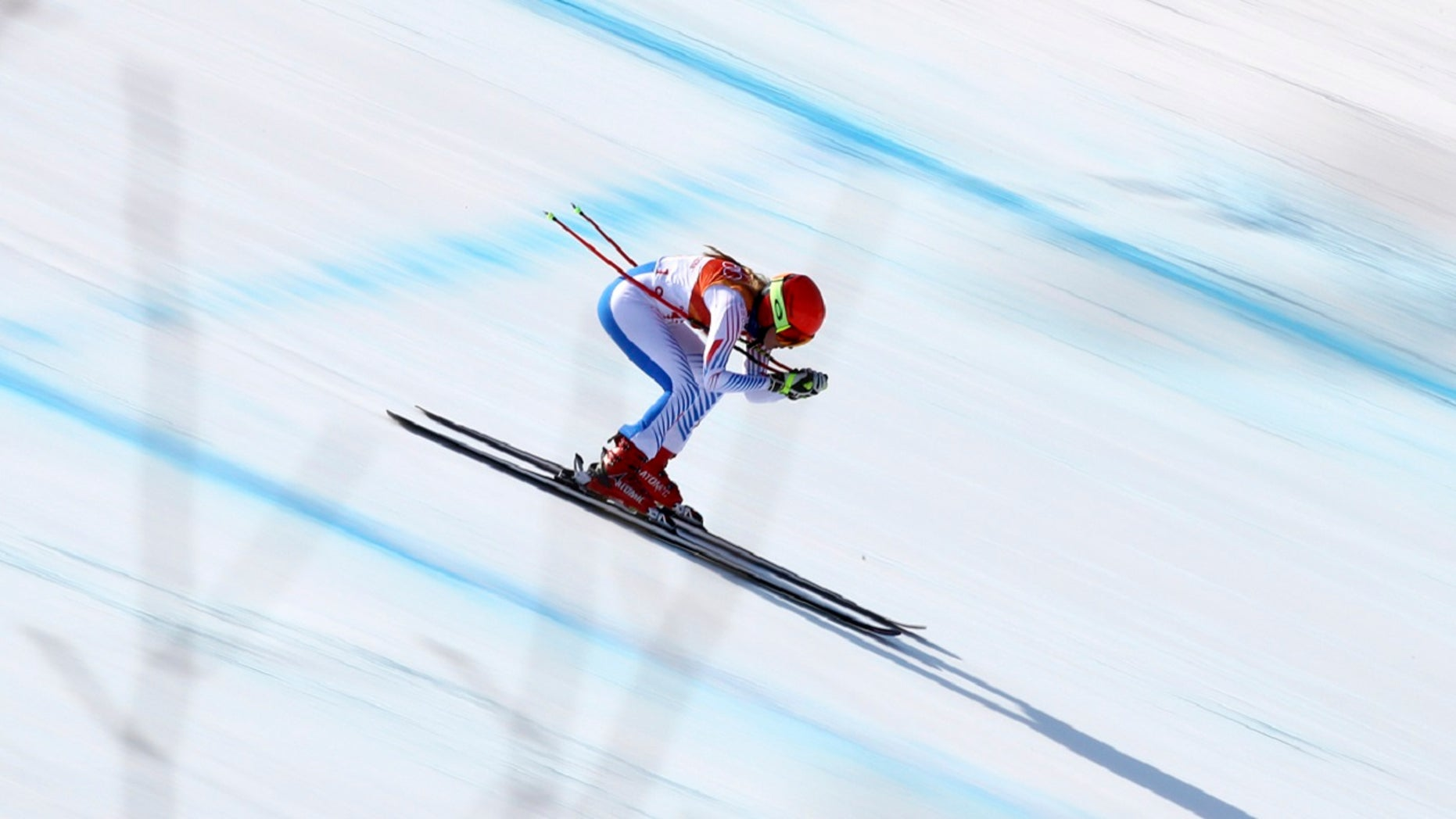 United States' Mikaela Shiffrin competes in the women's combined downhill at the 2018 Winter Olympics in Jeongseon, South Korea, Thursday, Feb. 22, 2018.