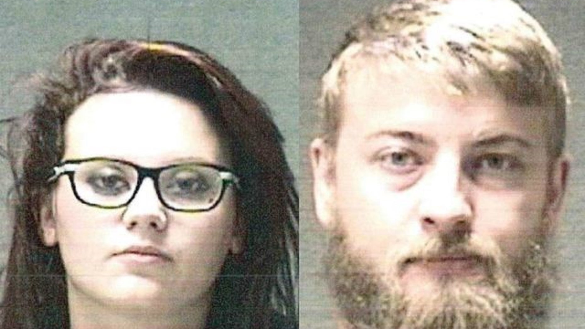 Parents Taylor Shively and Brady Shively were arrested Monday and charged with two counts of neglect of a dependent, authorities said.