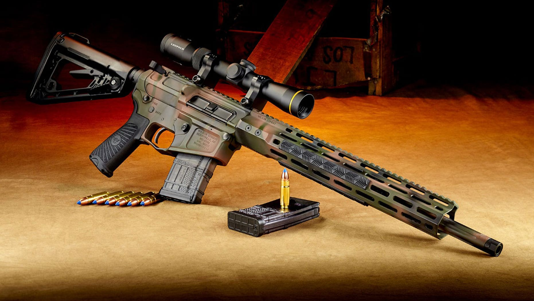 SHOT Show 2018 showcased some of the most powerful big-game rifles on the market, like the Wilson Combat .458 HAM'R Tactical Hunter.