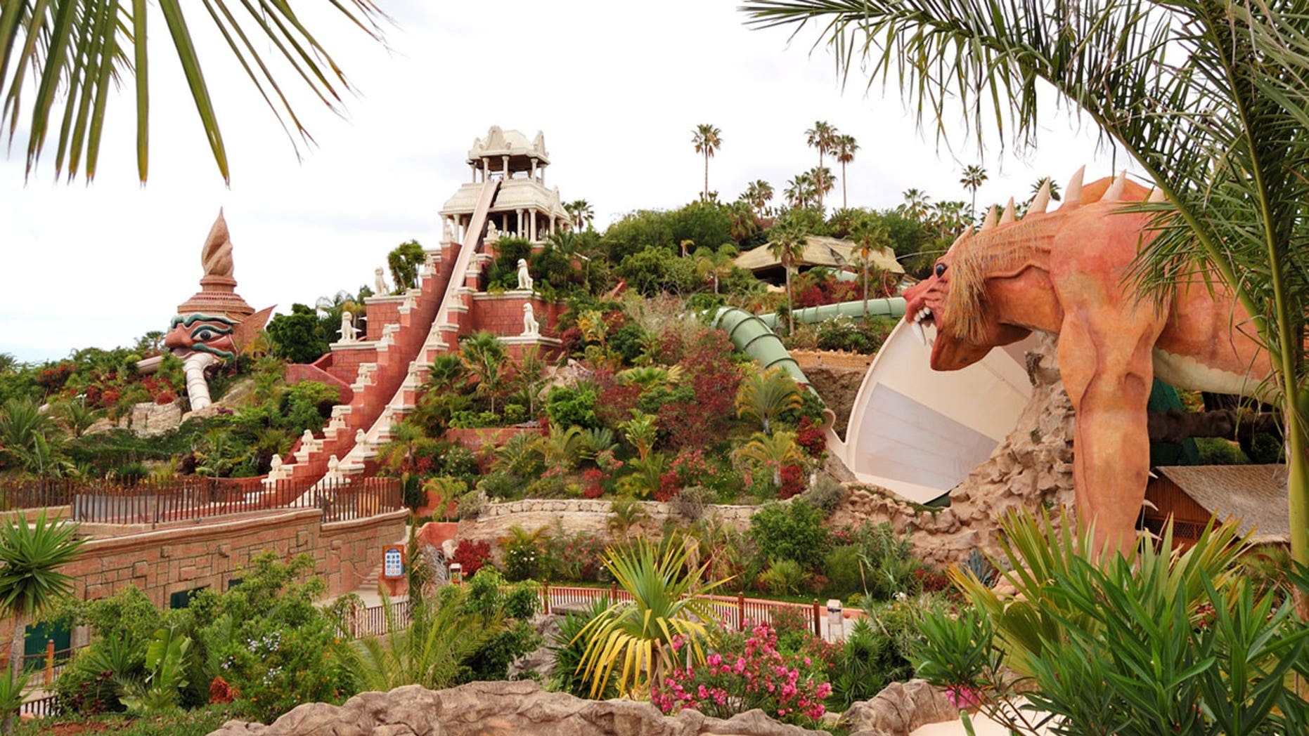 Siam Park is home to a couple of truly frightening rides.