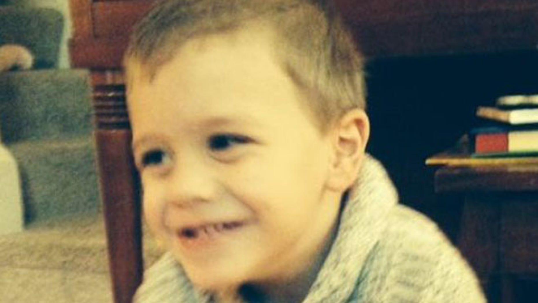 Sidney Heidrick, 4, was last reported seen Friday, July 24. (FBI)