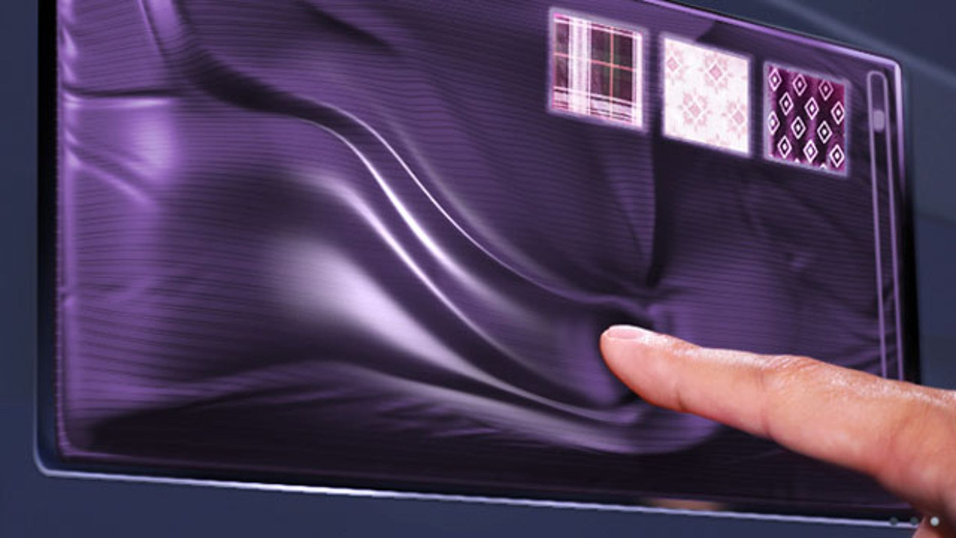 Haptic touch screens come alive with textures, contours and edges that users can feel.