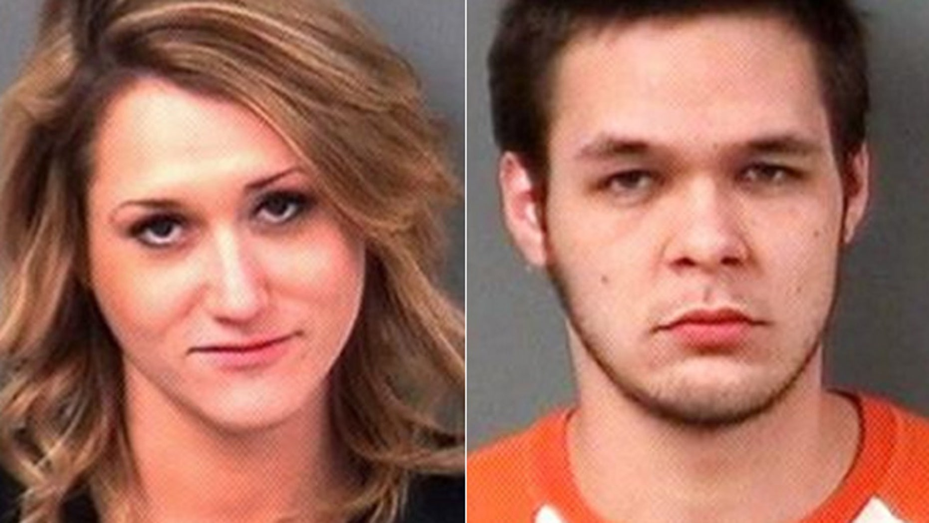 Samantha Christiansen and Derek Gomez were arrested for getting in a Silly String fight at a Walmart.