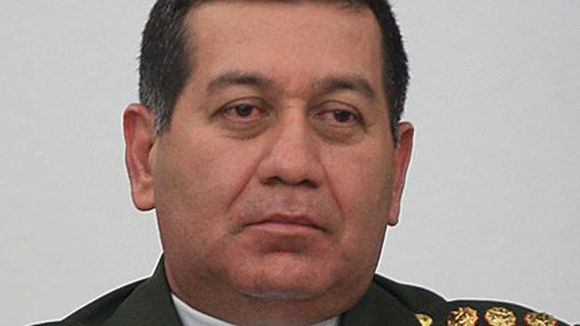 Nov. 11: Venezuelan General Henry Rangel Silva attends a cabinet meeting with President Hugo Chavez, not pictured, in Caracas.  (Reuters)