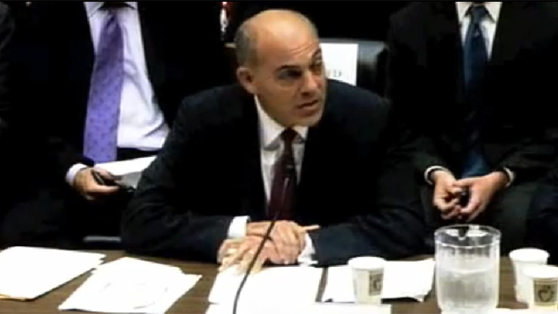 Jonathan Silver, outgoing head of the Energy Department's loan program office, testifies on Capitol Hill Sept. 14.