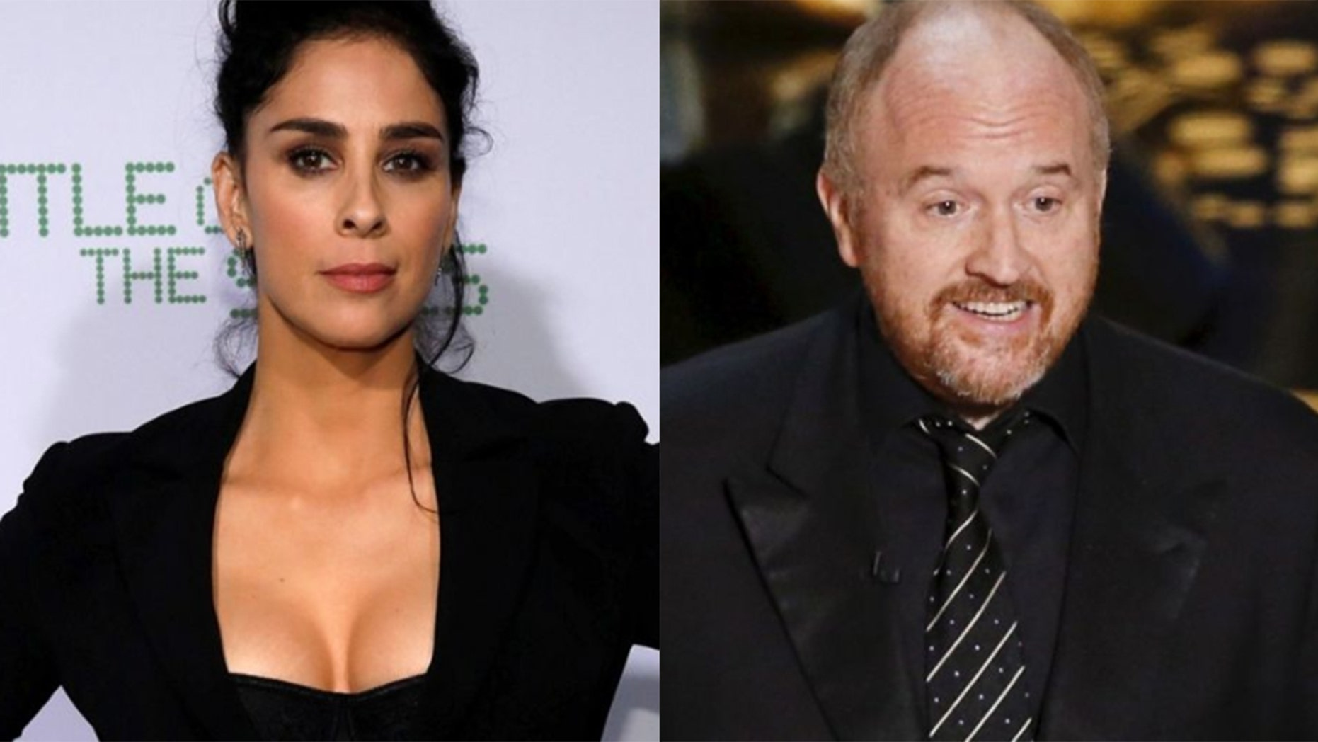 Sarah Silverman says Louis C.K. claimed his daughter was helped by her monologue about his sexual misconduct.