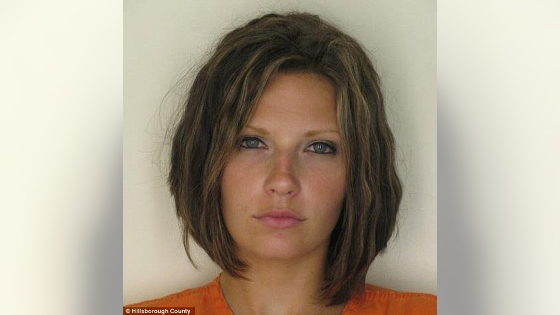 Meagan Simmons, of Zephyrhills, Fla., seen here in a 2010 mug shot, filed the lawsuit in Hillsborough County Court against InstantCheckmate.com. (Hillsborough County)