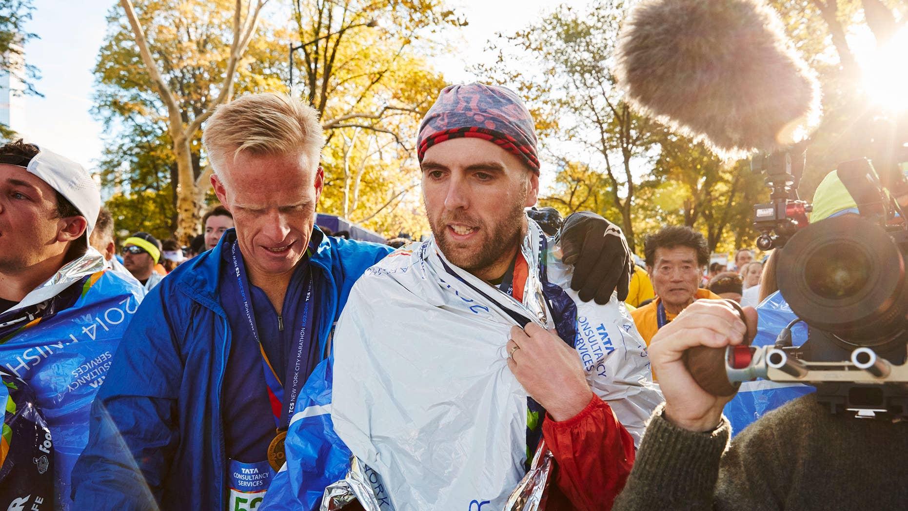 Simon Wheatcroft finished the 2014 New York City Marathon in 5:13:18. PHOTOGRAPH COURTESY OF SIMON WHEATCROFT