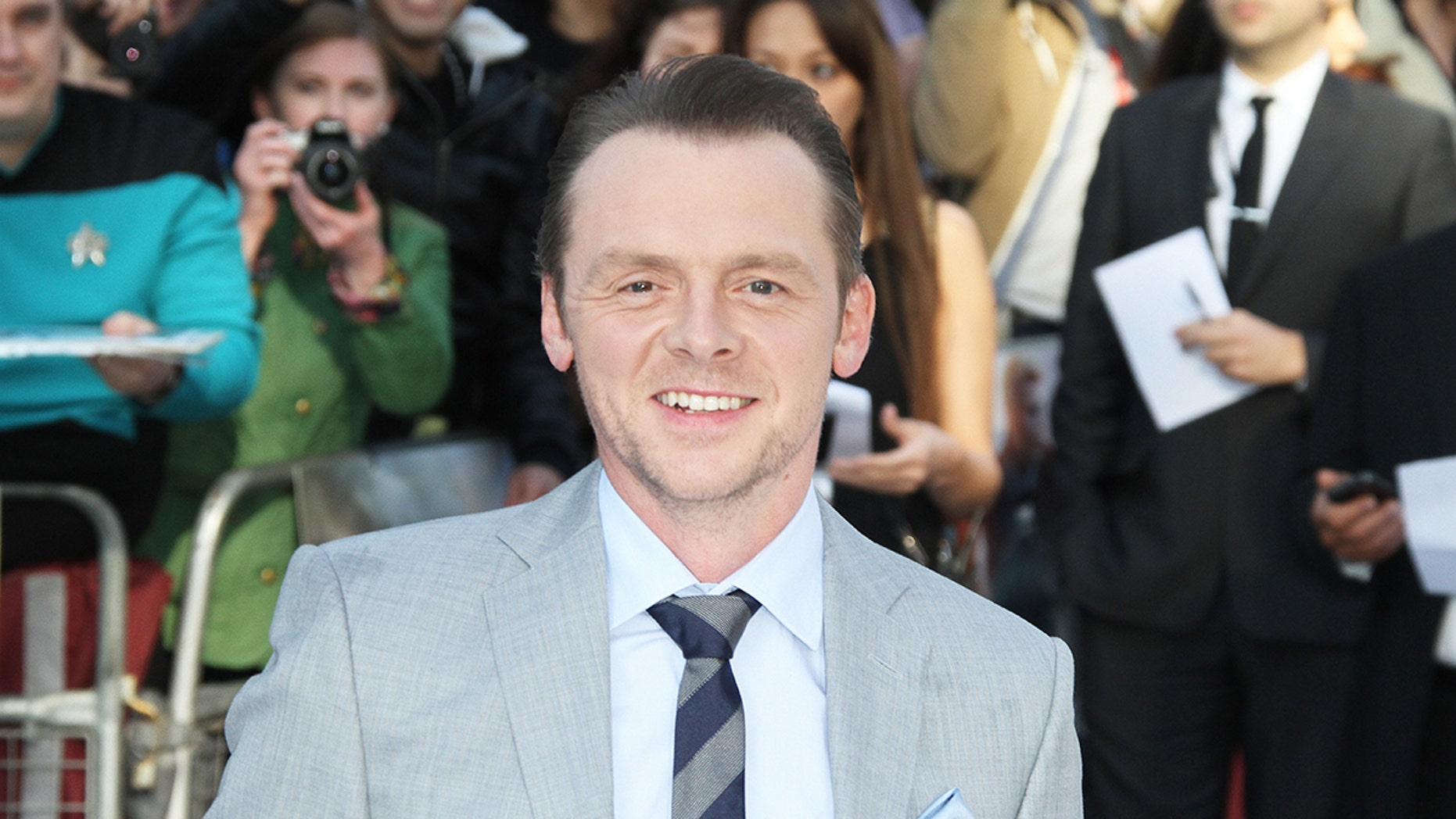 Simon Pegg recently revealed his previous struggles with alcoholism and depression.