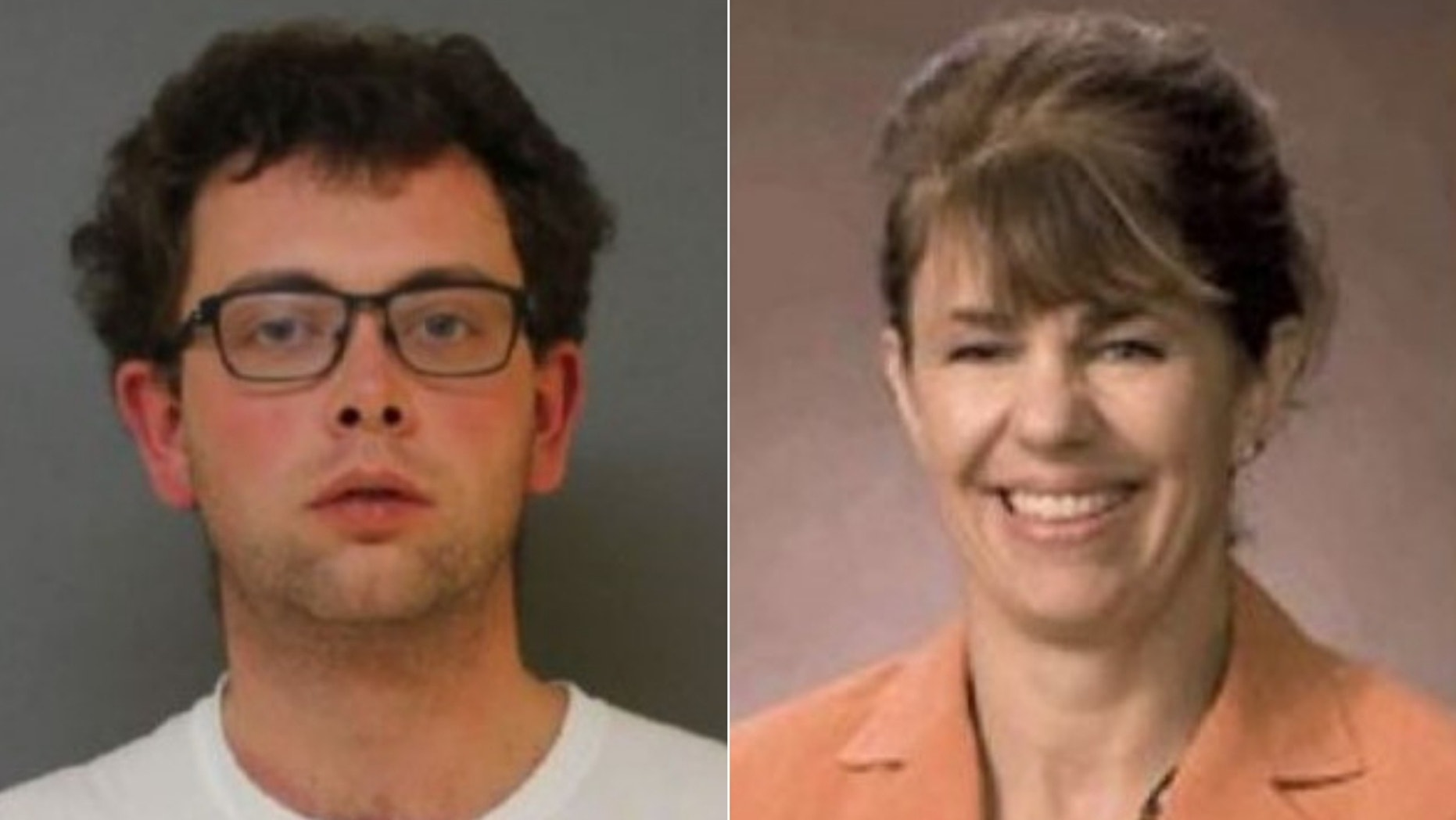 William Winters Leverett, 27, (left) was arrested in the murder of Melissa Millan, 54, (right).