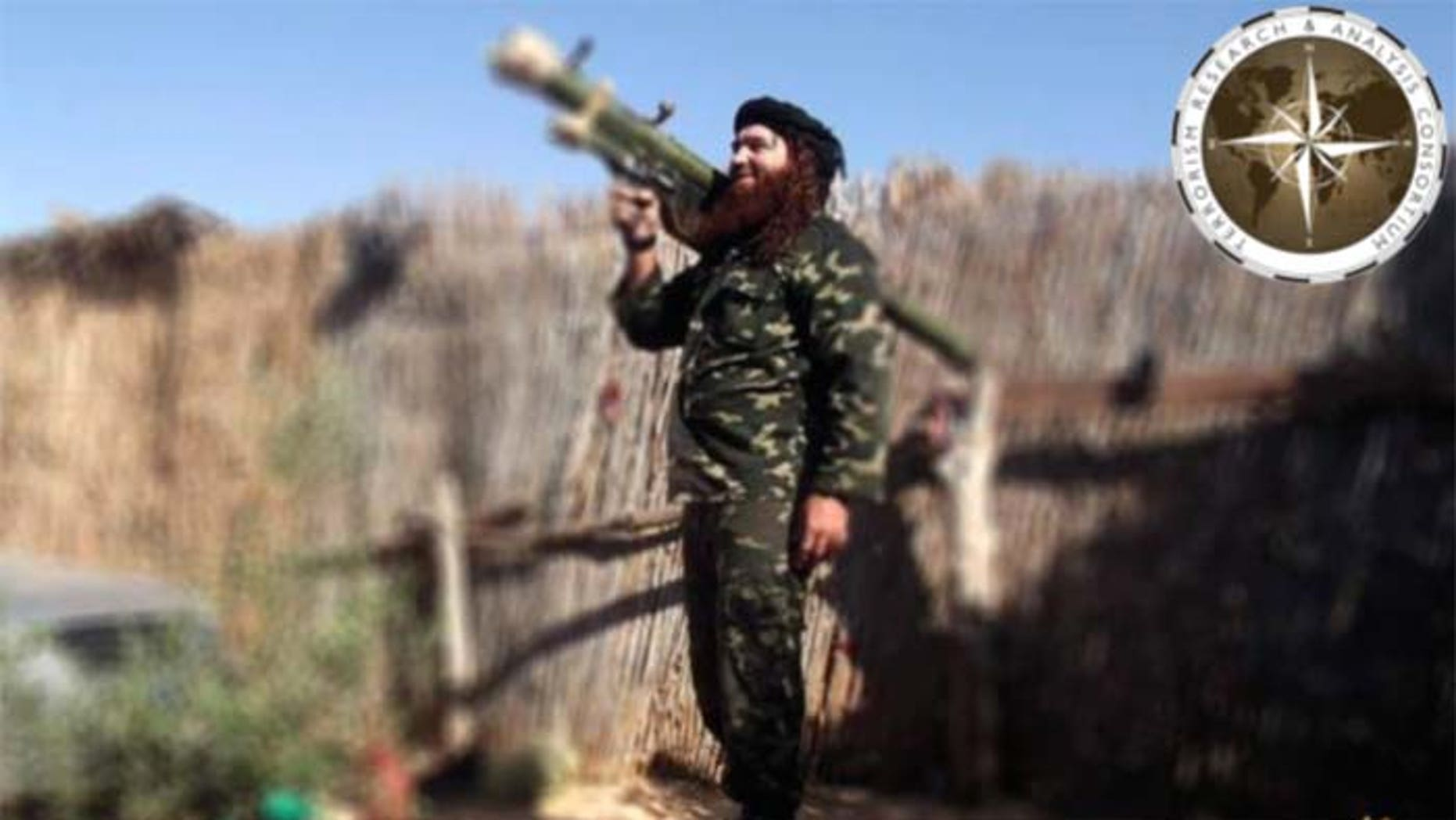 ISIS in the Sinai Peninsula has boasted of its weaponry, including the above photo showing a fighter with a Man Portable Air Defense System. But US authorities have ruled out the possibility a missile strike brought down the Russian airliner. (TRAC)