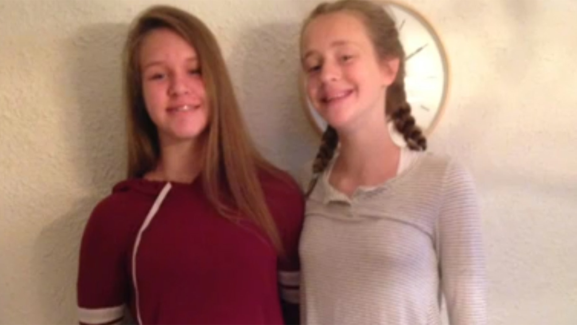 Riley Robinson, pictured right, was killed and her sister severely injured after the ATV they were riding on crashed into trees.