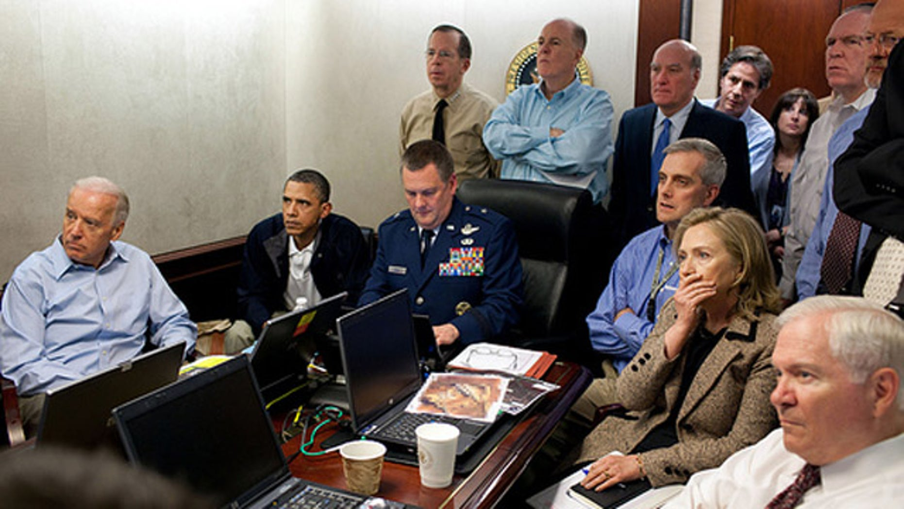 May 1, 2011: President Obama and his national security team monitor the operation which resulted in the killing of Usama bin Laden.
