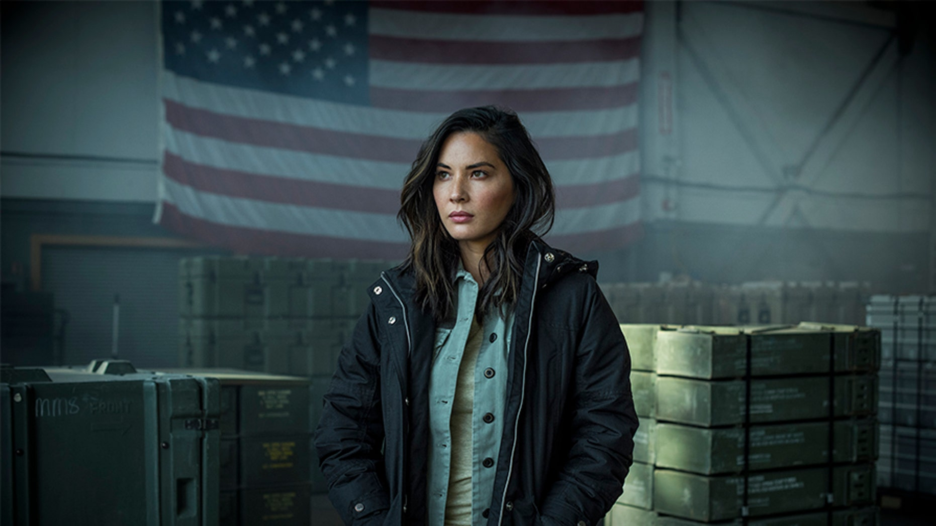 "Actress Olivia Munn joined the cast of History Channel's ""Six"" for Season 2."