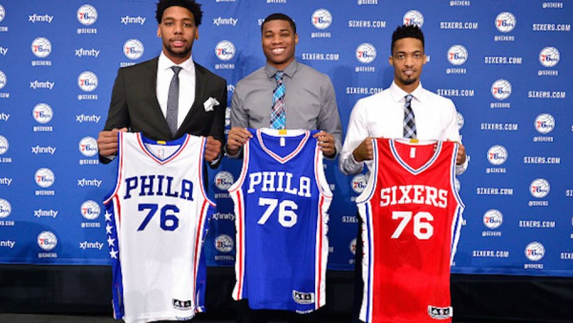 c72ef03618a1 The Philadelphia 76ers are the first NBA team with a jersey ad deal ...