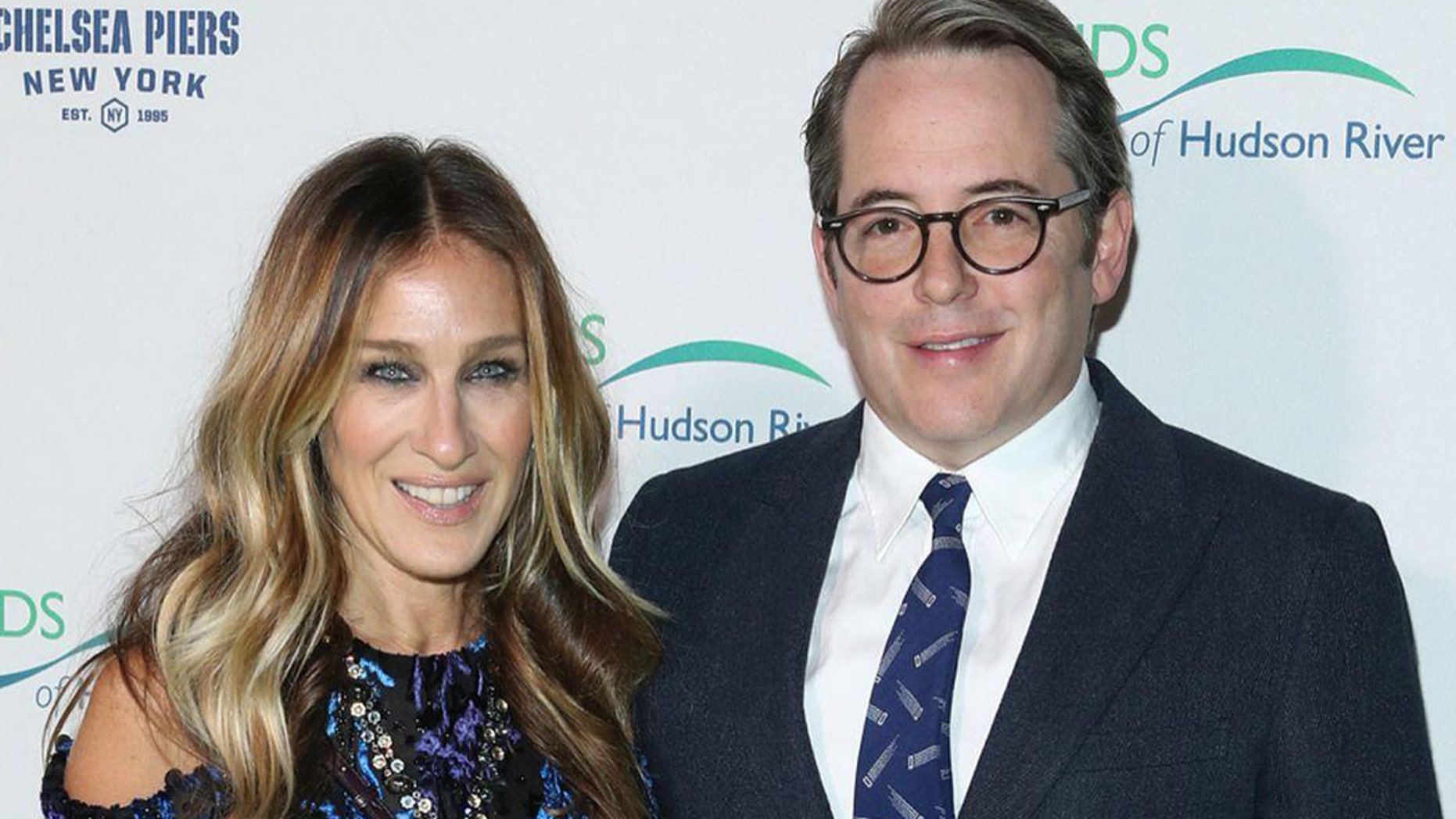 """Sarah Jessica Parker says her time apart from husband, Matthew Broderick, was """"beneficial"""" for their marriage."""
