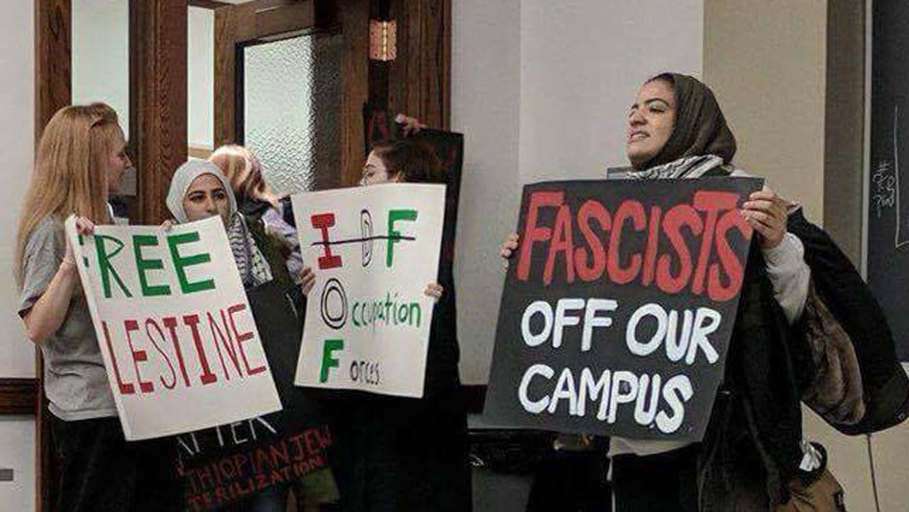Members of Students for Justice in Palestine disrupted a speech by openly gay Israeli activist, Hen Mazzig, at the University of Illinois at Urbana-Champaign.