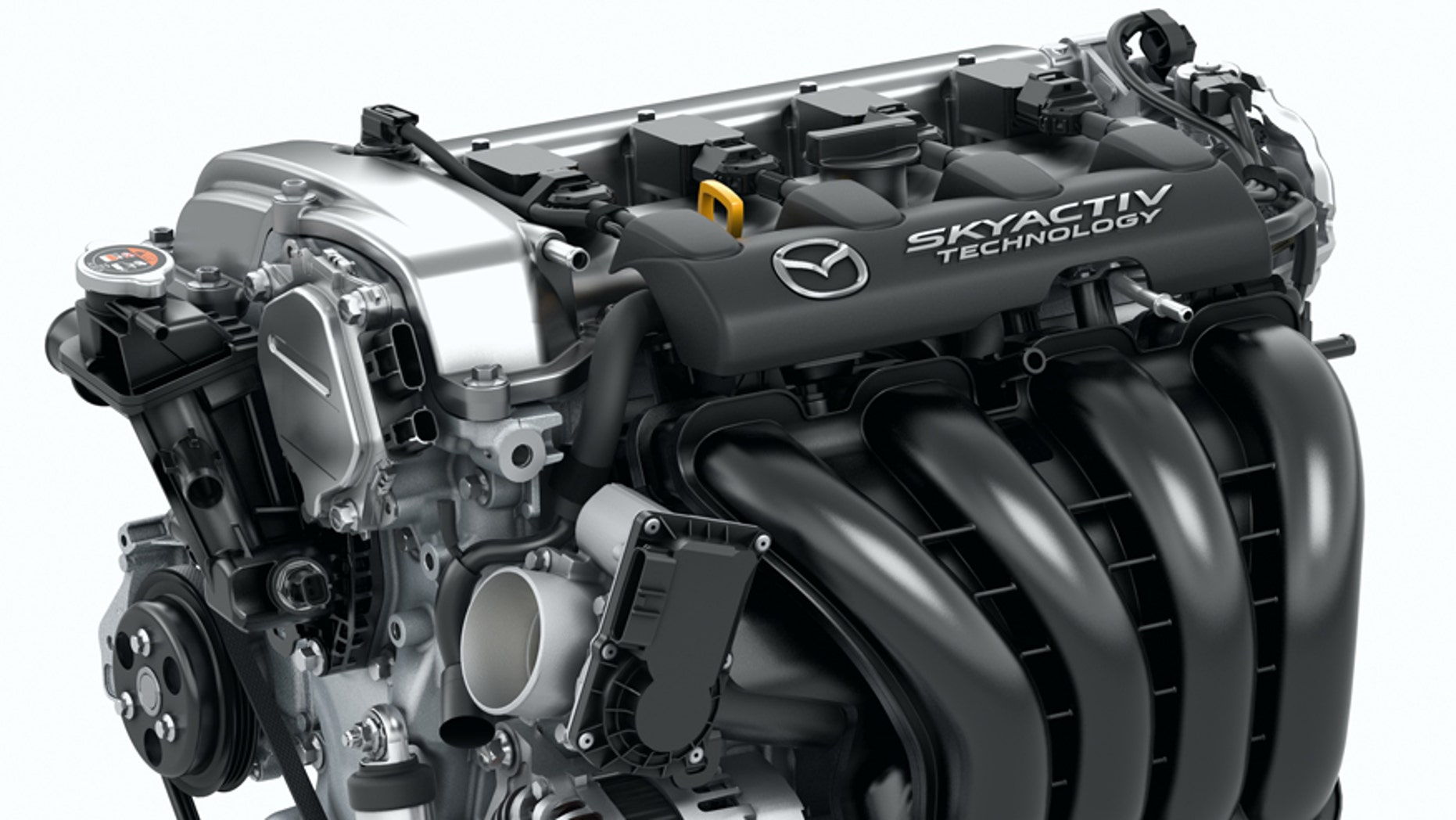 Mazda MX-5 engine for illustration purposes only