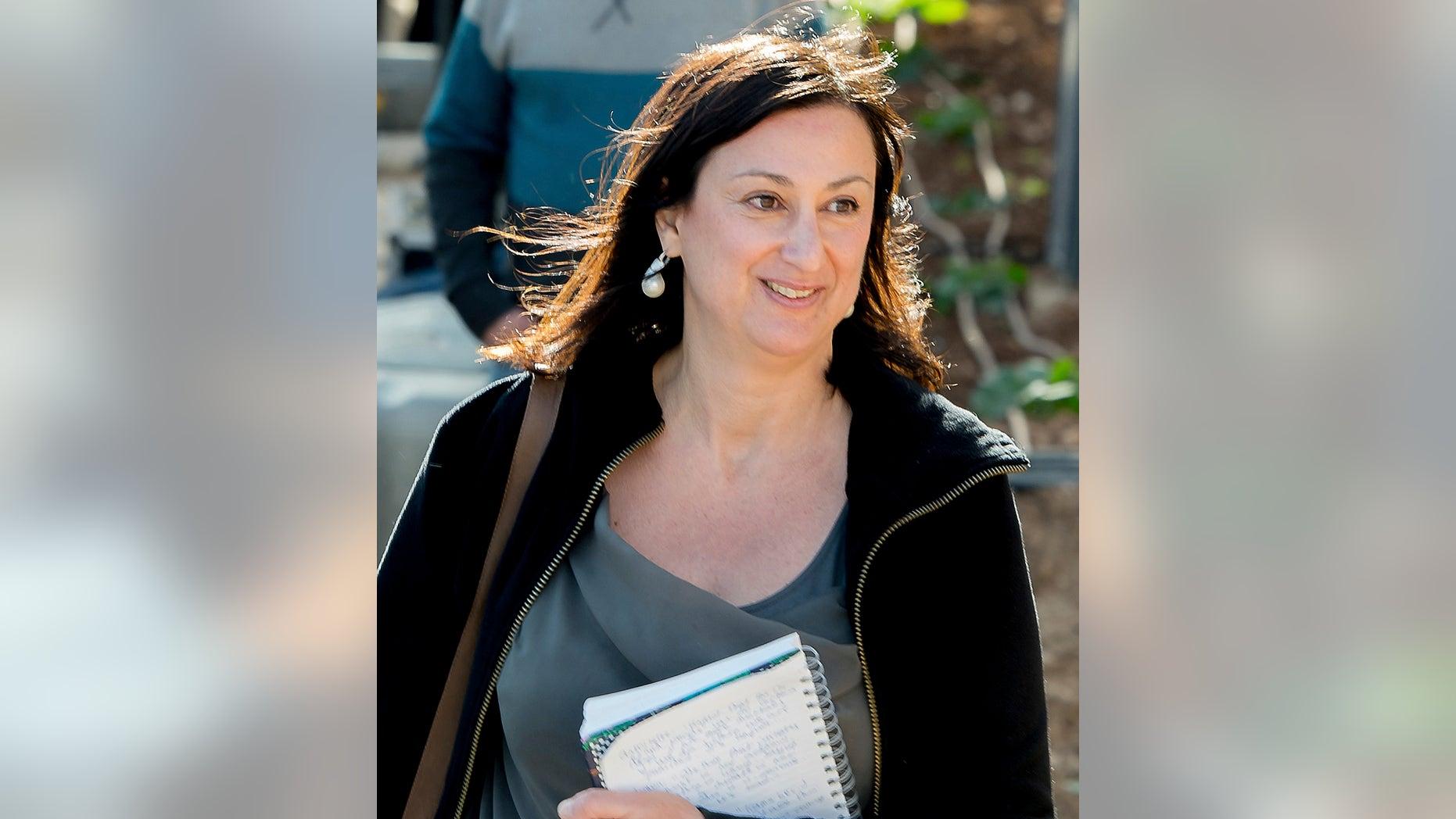 Journalist Daphne Caruana Galizia was killed in a car bomb attack.