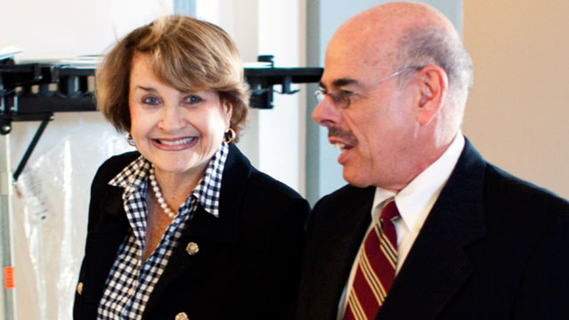 The 'Slaughter Solution' was named after Rep. Louise Slaughter, left, who proposed that by incorporating the Senate health care bill into the reconciliation bill rules.  (AP)