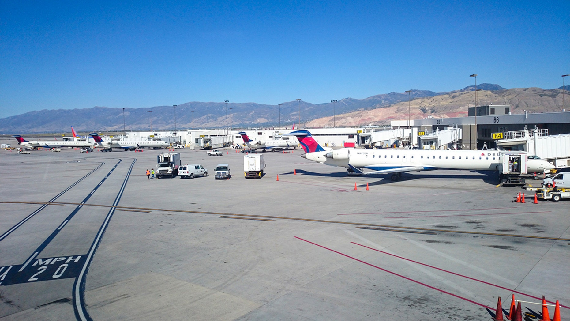 The 16-year-old was reportedly running from police the day before, evading capture by jumping over a fence at the airport.