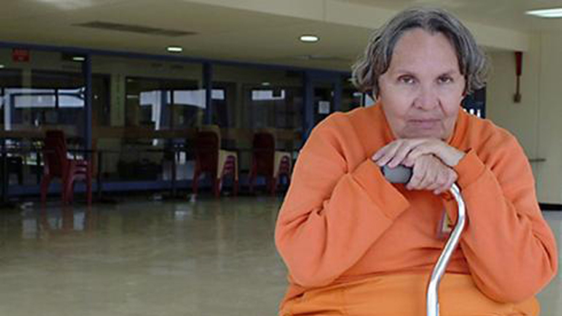 After 49 years behind bars, Smithey is a free woman. (AP)