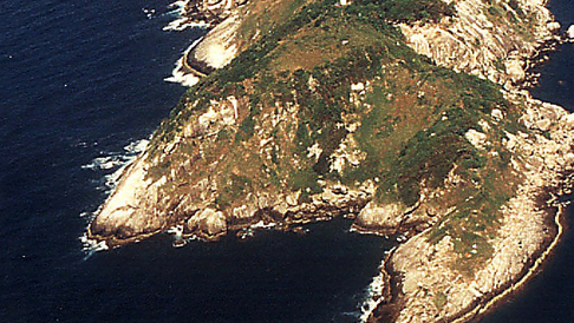 "Ilha de Queimada Grande, or ""Snake Island"" is located off the coast of the state of Sao Paulo, Brazil."