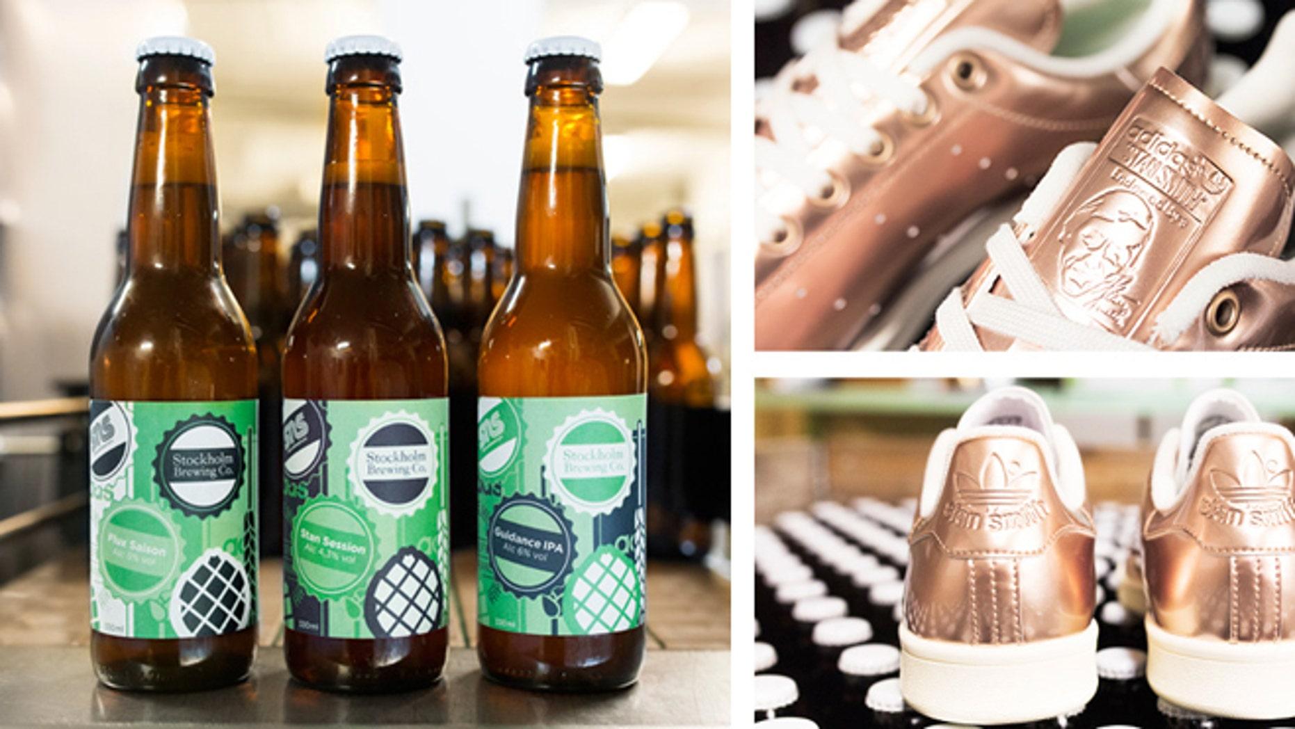 Beer inspired by sneakers inspired by beer.
